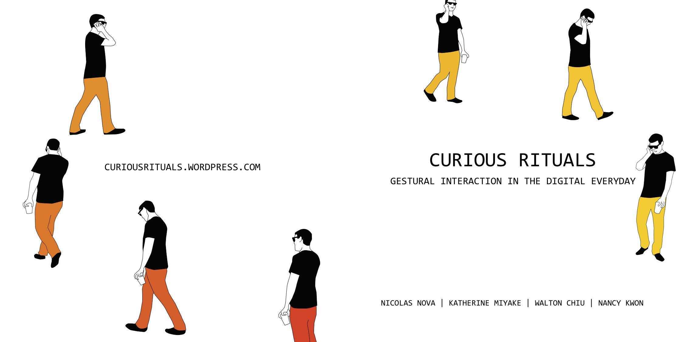 "E book Gratuito ""Curious Rituals: Gestual Interactions in the Digital Everyday"""